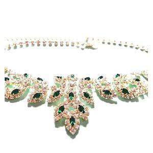 Jewelry - Iced Emerald Choker